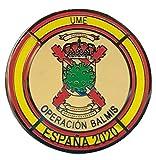 Gemelolandia Pin de Solapa Operación Balmis Operación Militar 2020 25 mm Broche Pin de traje Unidades Militares España