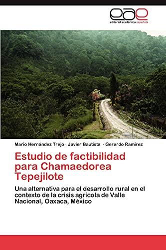 Estudio de factibilidad para Chamaedorea Tepejilote: Una alternativa para el desarrollo rural en el contexto de la crisis agrícola de Valle Nacional, Oaxaca, México