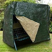 Ram Heavy Duty Waterproof 3 Seater Swinging Garden Hammock Cover with Zip