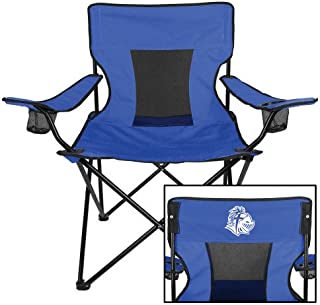 CollegeFanGear Southern Wesleyan Deluxe Royal Captains Chair 'SWU w/Knight'