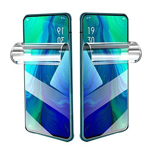 móvil Protector Pantalla,Membrana hidrogel,Protector de Pantalla de Cobertura Total,para iPhone 11 12 Pro XS MAX SE 2020 XR 6 6s 7 8 Plus