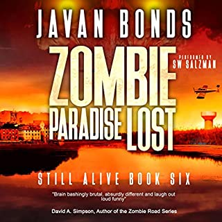Zombie Paradise Lost audiobook cover art
