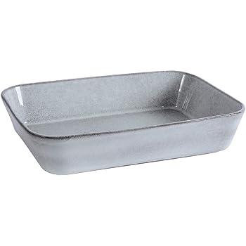 4x Set en Céramique Mini grès rectangulaire Four à table Serving Baking Dish Tray
