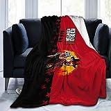 commix.x Red 2 Ultra Soft Anti-Pilling Flannel Blanket A-rthur M-Organ Throw Blanket Warm Plush Cozy Soft Blankets 50X60''