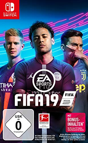 FIFA 19 - Standard Edition - Nintendo Switch [Edizione: Germania]