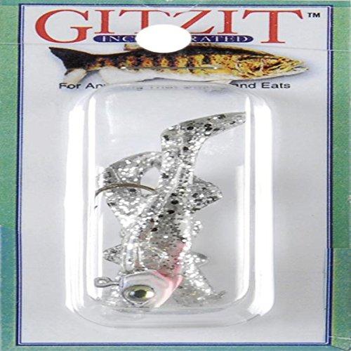 Gitzit Inc Paddle Fry 7,5cm Blue/&Pepper Angeln Kunstköder Gummifische