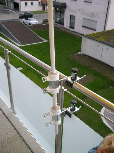 Parapluie de bâtons à 25,5 ø 47 mm-lot de 1–support jusqu'à 40 mm diamètre de grande taille-acier inoxydable-distance support de parasol pour balcon ou pour l'extérieur à l'intérieur 11 cm hauteur de fixation de parapluie pour fixation breveté-holly rond ou carré éléments de 2 à 3 prises radius 40 mm en acier inoxydable avec support réglable pivotant à 360 kratzfreien gUMMISCHUTZKAPPEN ° avec support de fixation-pivotant à 360° avec distance prises pour parasol bâtons de 55 à ø 25,5 mm douille profonde 11 cm 13 cm d distance filetage long bec pivotant aXE-innovations lot de 2–en allemagne-holly ® produits sTABIELO-holly-sunshade ® sCHIRMEN à sur-ø 2,5 cm de 2 supports de fixation ou 2–te utiliser pour des raisons de sécurité (kabelbinder)