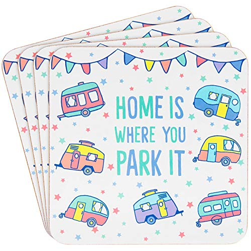 Home is Where You Park It - Caravan Coasters