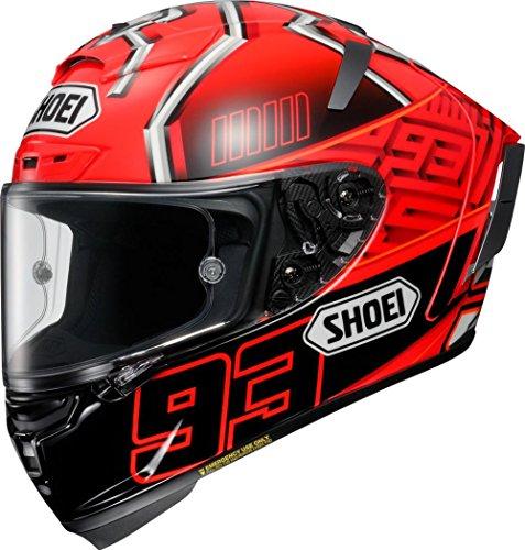 ショウエイ(SHOEI) バイクヘルメット フルフェイス X-Fourteen MARQUEZ4 (マルケス4) TC-1 RED/BLACK XL (61cm) -