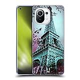 Head Case Designs La Torre Eiffel París Francia Mejor de Lugares Set 2 Carcasa de Gel de Silicona Compatible con Xiaomi Mi 11