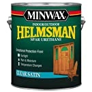 Minwax 13205000 Helmsman Indoor/Outdoor Spar Urethane, 1 gallon, Satin