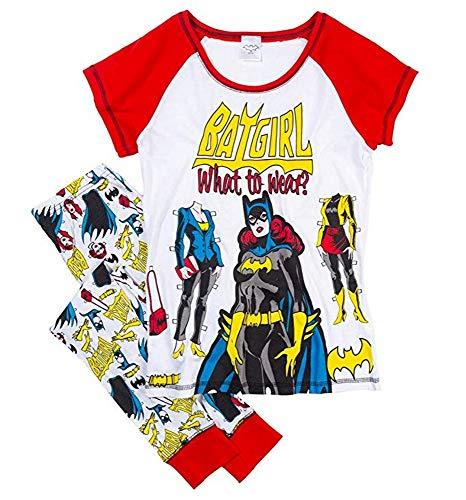 Lora Dora Damen-Schlafanzug mit Batgirl-Motiv, Gr. 40-42