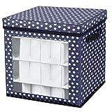 MAGFUN Ornament 36 Grid Baubles Storage Box Decorazione Albero di Natale Ball Organizer Bag per Scatola di Decorazioni per Feste di Natale
