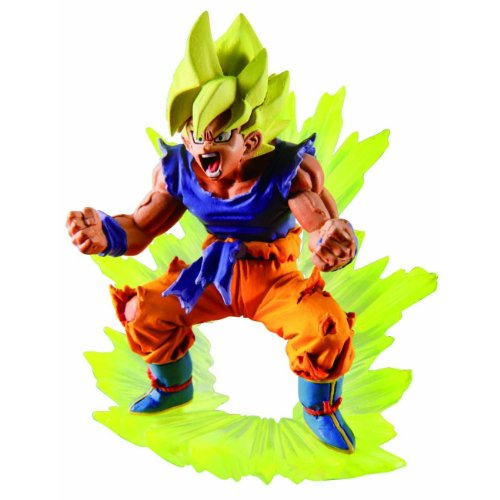 Dragon ball Z Figurine Gashapon Capsule Neo Chapter Freeza Return : Super Saiyan Son Gokou