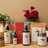 Benefits: Even toned facial and body glow ; Reduced facial and body pigmentation ; Reduced uneven skin tone Strong roots and hair growth; Reduced hairfall ; Top to Toe chemical free bathing ritual Set Contents: 90 Day Miracle Oil (200ml) ; Extra Virg...