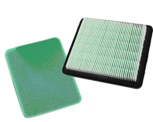 Ise Kit de filtre à air pour Honda IZY HRG415 HRG465 HRG536 HRB425 HRX426 HRX427 GC135 GC160 GCV135 GCV160 GCV190