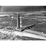 Space NASA Aerial View Apollo 11 Saturn V Rocket Extra
