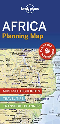 Lonely Planet Africa Planning Map [Lingua Inglese]