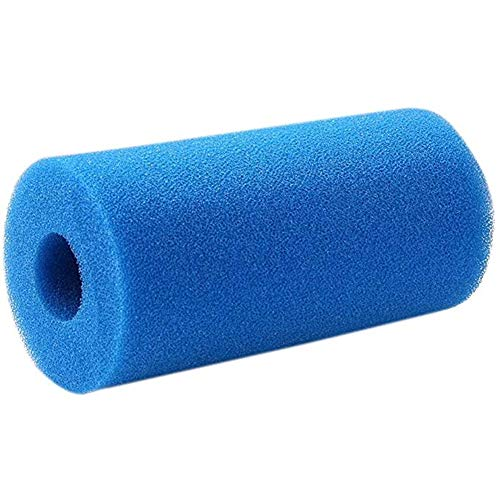 QPOLLY Filtro de Espuma para Intex Tipo A, Cartucho de Esponja, Piscina Filtro, Reutilizables y Lavables, para Hidromasaje/Piscina/SPA, 1Pcs 10 * 4 * 20cm