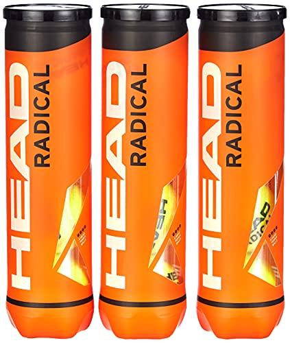 Head Radical Balles de tennis – Boites de 4...