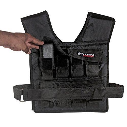 Titan Adjustable Weighted Vest | 20-60 LB