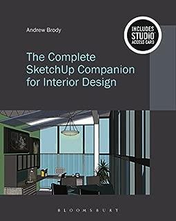 The Complete SketchUp Companion for Interior Design: Bundle Book + Studio Access Card