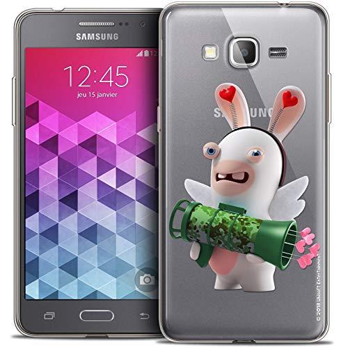 Cover per Samsung Galaxy Grand Prime, ultra sottile, motivo: conigli cretini Cupidon Soldato
