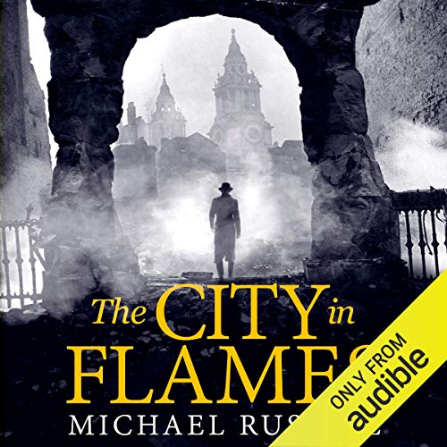 The City in Flames audiobook cover art