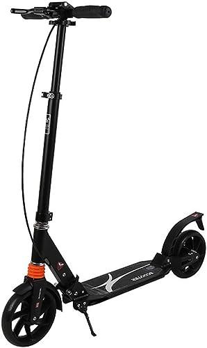 Faltender Roller ZWeißad Aluminiumlegierung Pedal ZWeißad Roller Bremsscheibe Roller