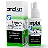 Amplixin Intensive Biotin Hair Growth Serum - Hair Loss Prevention Treatment For Men & Women With...
