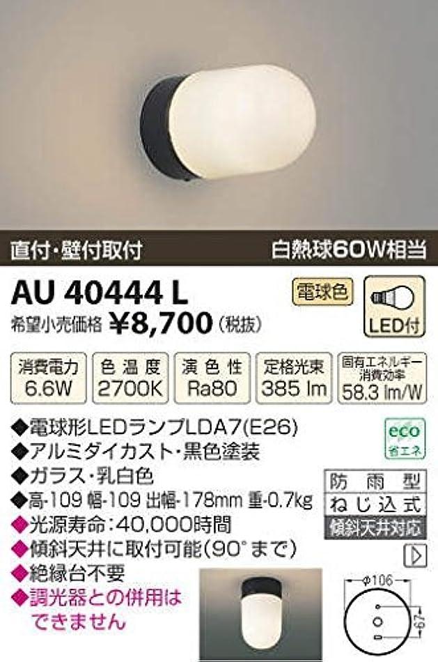 少ない部屋を掃除するキャプテンコイズミ照明 LED防雨型ブラケット直付?壁付両用型(白熱球60W相当)電球色 AU40444L