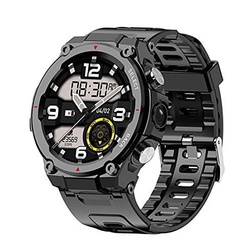 ZBY 4G Smart Watch Pulsera Inteligente con GPS Bluetooth IP68 Impermeable Y Duradero Q998 Pantalla Táctil Completa para Hombres Reloj De Aptitud Deportivo,A