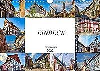 Einbeck Impressionen (Wandkalender 2022 DIN A4 quer): Zwoelf einmalige Bilder der Stadt Einbeck (Monatskalender, 14 Seiten )