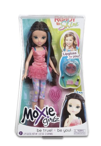Moxie Girlz – Ready to Shine – Lexa – Poupée à Maquiller 20 cm
