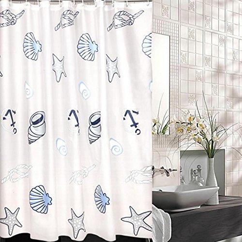 Douchegordijn PEVA Badkamer Voorzieningen Mildewproof Plain Badkamer Grote versie 80 × 180cm (breedte × hoogte) / stuk
