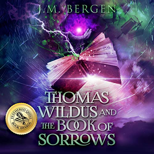 Thomas Wildus and the Book of Sorrows audiobook cover art