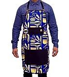 King Midas Barber Apron Unisex Hair Stylist Apron (Blue)
