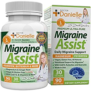 MIGRAINE RELIEF- Migraine Assist is the all-in-one migraine support that you need in one convenient supplement. MIGRAINE STICK COMPLEMENT - Migraine Assist is a great complement to a Migraine Stick. Give your body the nutritional support to help migr...
