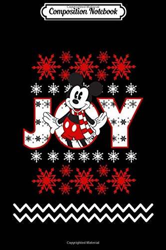 Composition Notebook: Disney Mickey Mouse Ugly Joy Sweat Journal/Notebook Blank Lined Ruled 6x9 100 Pages
