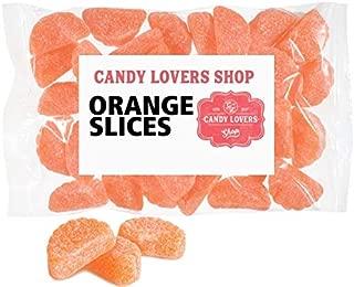 Gourmet Gummy Orange Wedge Slice Candy, 1 lb Bulk Bag
