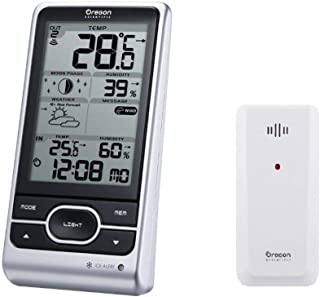 Oregon Scientific BAR208HGX Advanced Wireless Weather Station with Temperature Forecast,..