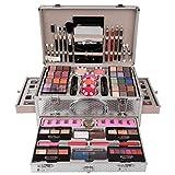 JasCherry Set di Trucchi Make Up Cosmetico Valigia per il Trucco Kit Trucchi Tutto in Uno Tavolozza...