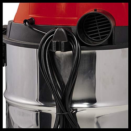 Einhell Nass-Trockensauger TC-VC 1930 S (1500 W, 30 l, Edelstahlbehälter, umfangreiches Zubehör) - 6