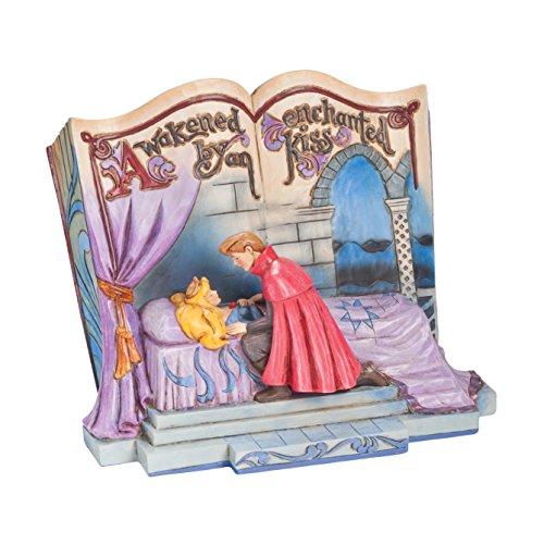 Enesco Disney Traditions Figurine la Belle Addormentata, PVC, Multicolore, 7x9x18 cm