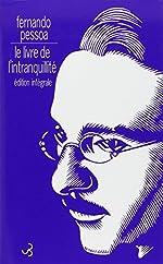 Le livre de l'intranquillité de Fernando Pessoa
