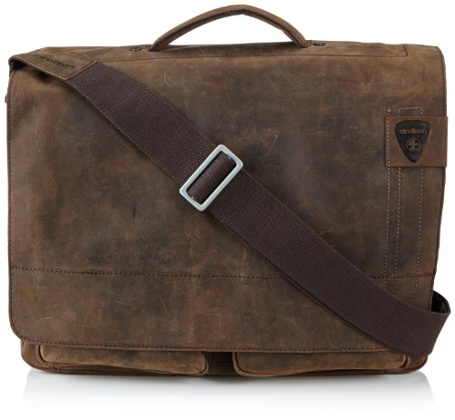 Strellson Richmond BriefBag XL 4010001260 Herren Henkeltaschen 41x33x16 cm (B x H x T), Braun (dark brown 702)