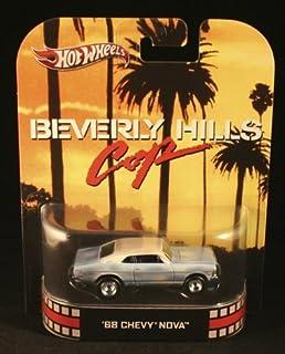 Hot Wheels Retro Beverly Hills Cop 1:55 Die Cast Car '68 Chevy Nova by Hot Wheels