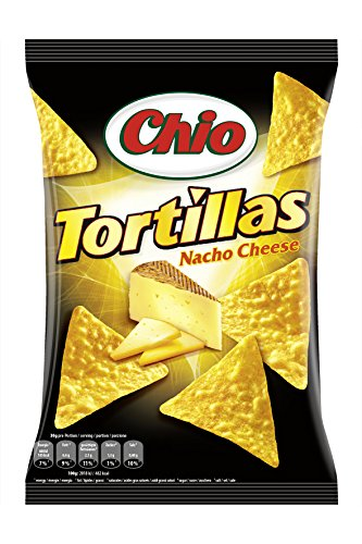 Chio Tortilla Chips Nacho Cheese, 125 g