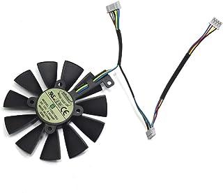 Ventilador de refrigeración para Tarjeta gráfica ASUS Strix GTX980Ti/R9390/RX480/RX580 de 87 mm T129215SU