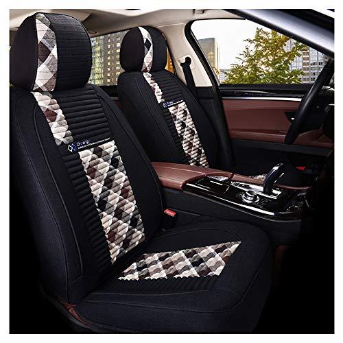YZU Funda Universal para Asiento de Coche de Cuero PU para Volkswagen Jeep Cherokee Chevrolet Dodge